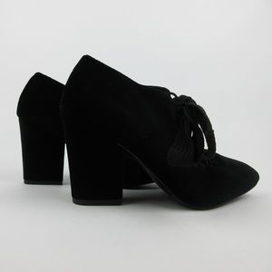 Nine West Womens Size 6 Sweeorn Almond Toe Booties